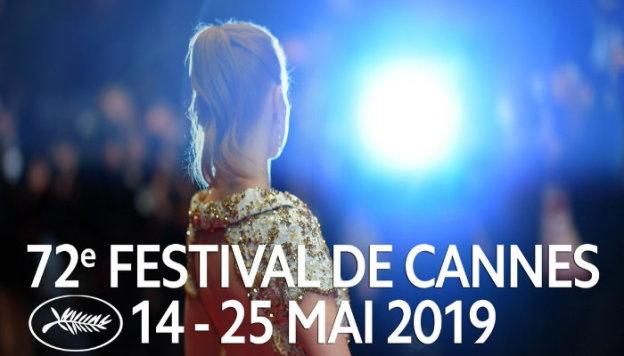 Affiche du festival de cannes 2019 à 30 km du camping Les Rives du Loup Alpes Maritimes