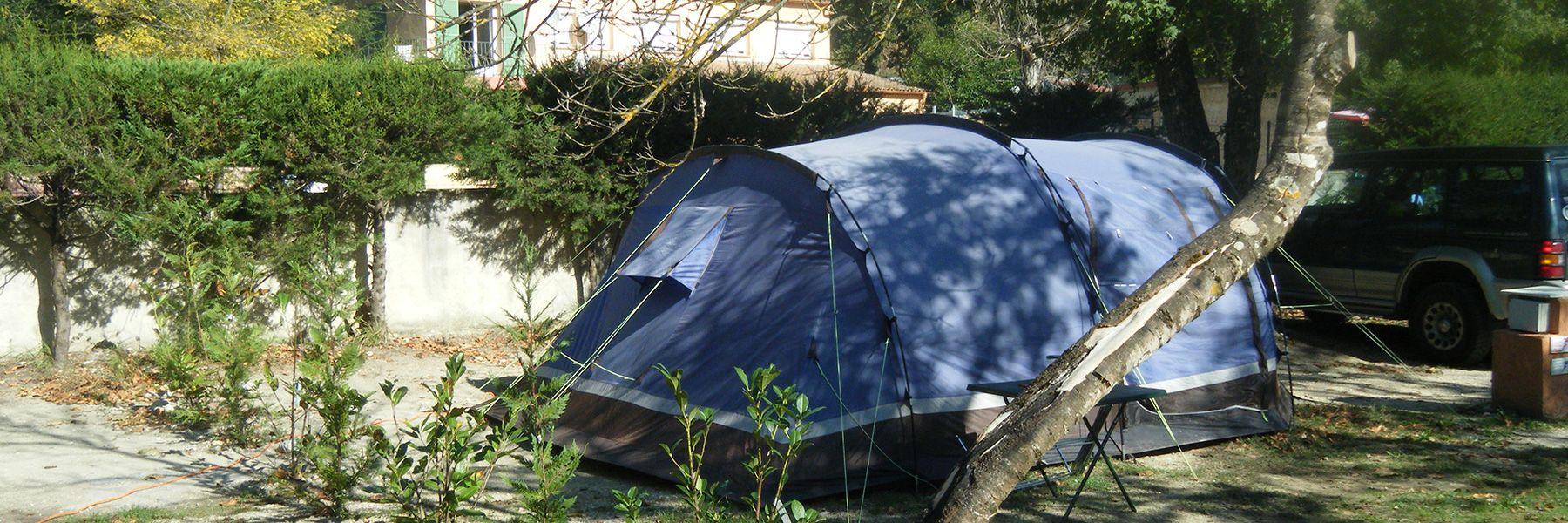 Nos emplacements de camping