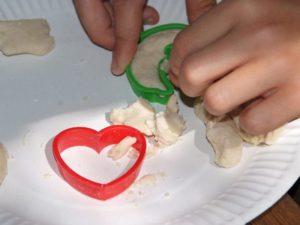 Pâte à sel au camping