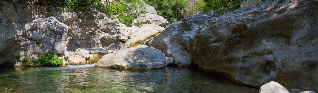 camping familial les rives du loup dans le 06