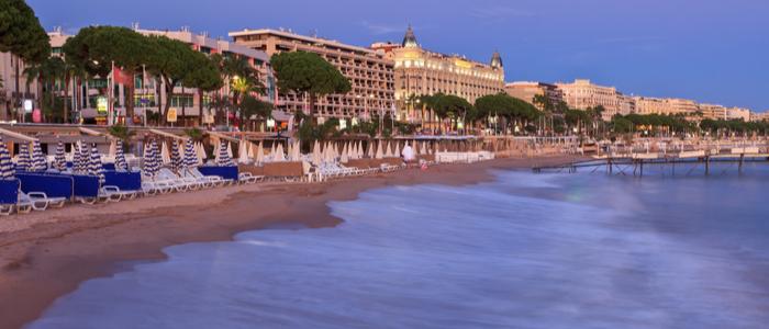 Campsite close to Cannes