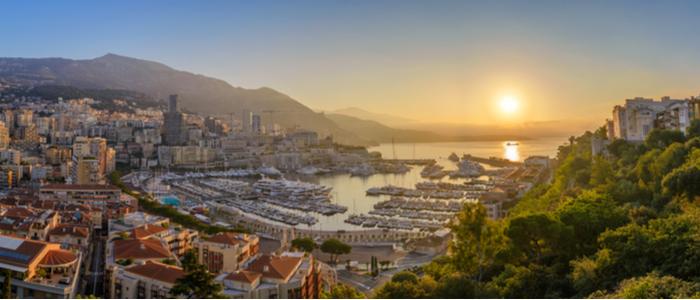 Campsite close to Monaco