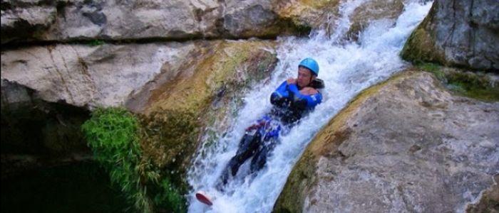 Canyoning Camping Pleine Nature