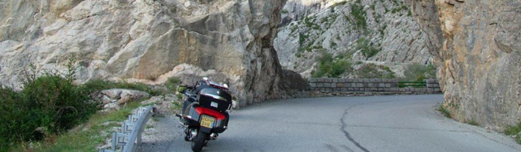 camping pour motards dans le 06 et les gorges du Loup
